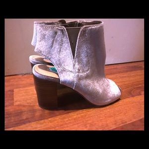 Stave Madden Peep Toe Ankle Boots